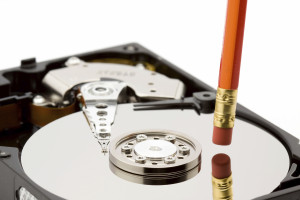 Hard drive wiping and erasing